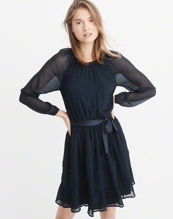 23549027cbea ANF Chiffon Raglan Dress