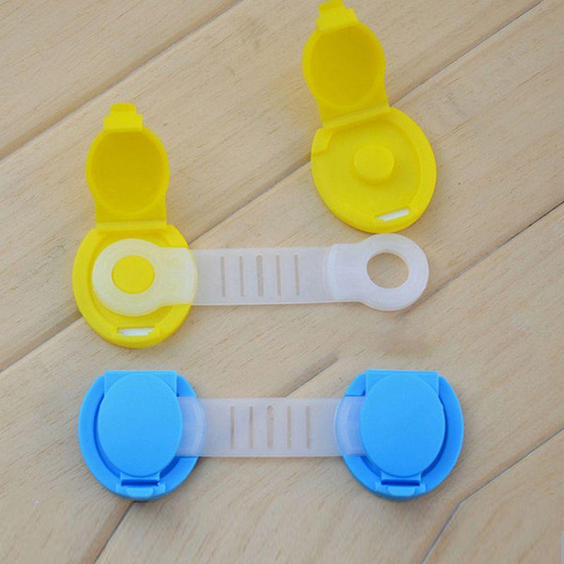 10 Baby Safety Lock Latch for Drawer Kitchen Cupboard Machine Fridge Toilet