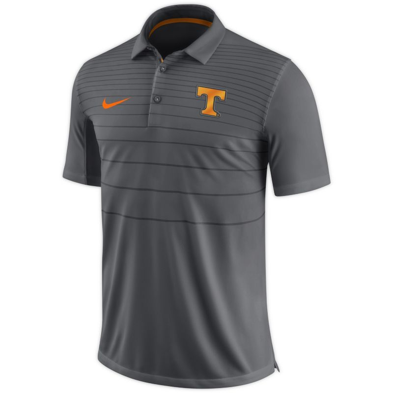 Nike Men's Tennessee Volunteers Gray Early Season Football Polo