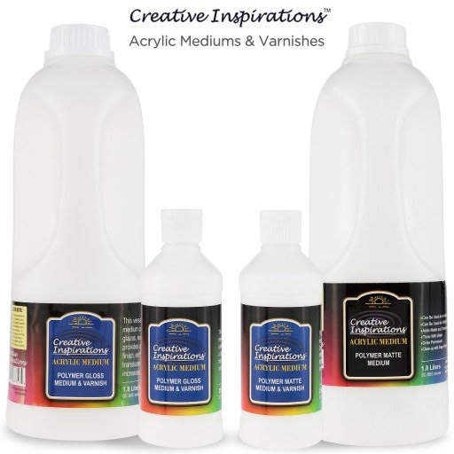 Creative Inspirations Acrylic Polymer Medium And Varnish Jug Gloss Jerry S Artarama Can Get On Ama Creative Inspiration Professional Art Supplies Creative