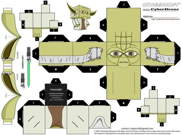 paper toy star wars pesquisa google mirlis 5th birthday pinterest. Black Bedroom Furniture Sets. Home Design Ideas