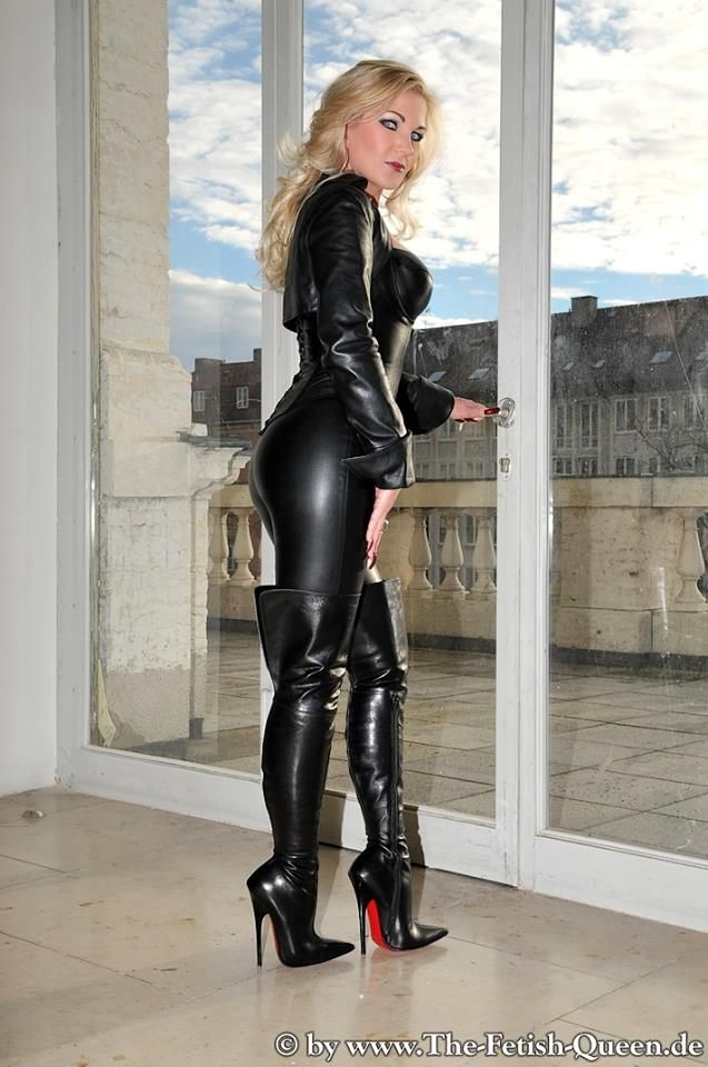 Heike the fetish queen | Leather | Pinterest