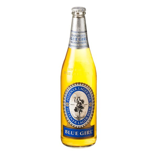 BLUE GIRL IMPORTED PREMIUM BEER 1. 22 Ounce Bottle,Pack of 12 =>$48 USD 2.  22 Ounce Bottle,Pack of 8 =>$32 USD 3. 22 Ounce Bottle,Pack of 4 =>$16 USD  4.