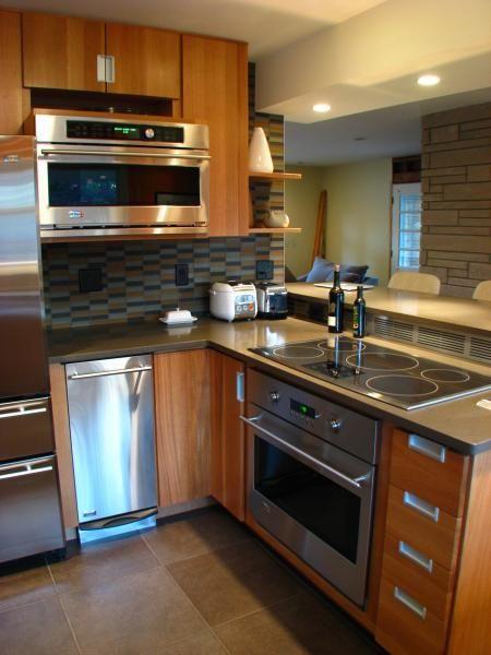 Herndon Design Tri Level Mid Century Modern Kitchen
