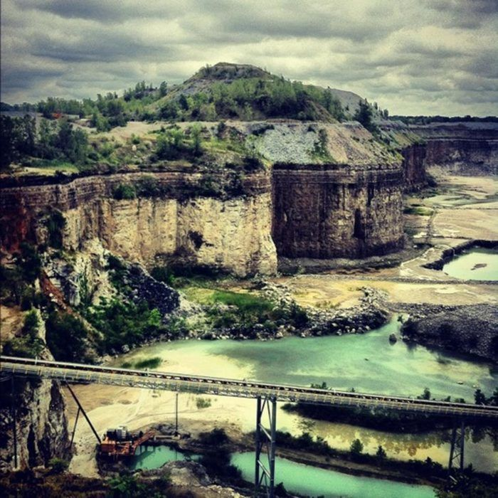 Beautiful Places To Visit In Indiana 1 Ardmore Quarry Fort Wayne