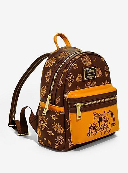 124dd9fd94c Loungefly Disney Winnie The Pooh Autumn Mini Backpack - BoxLunch  ExclusiveLoungefly Disney Winnie The Pooh Autumn Mini Backpack - BoxLunch  Exclusive