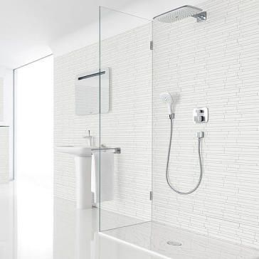 PuraVida Thermostatic Shower Set With Showerhead And Handshower In Interesting Bathroom Kitchen Renovations Set