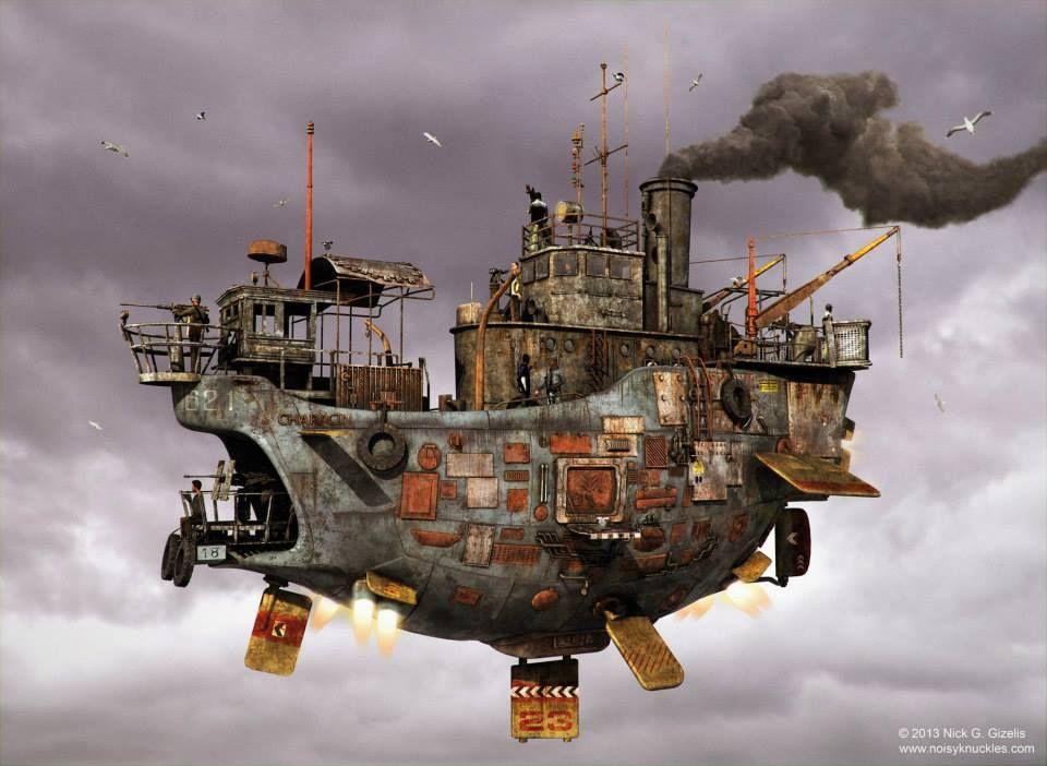 Nick Gizelis - Airship concept