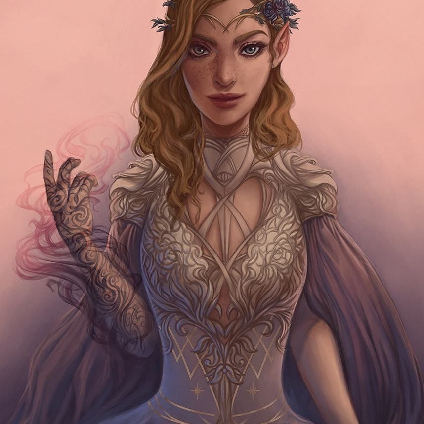 Feyre Archeron From The Book Series A Court Of Thorns And Roses By