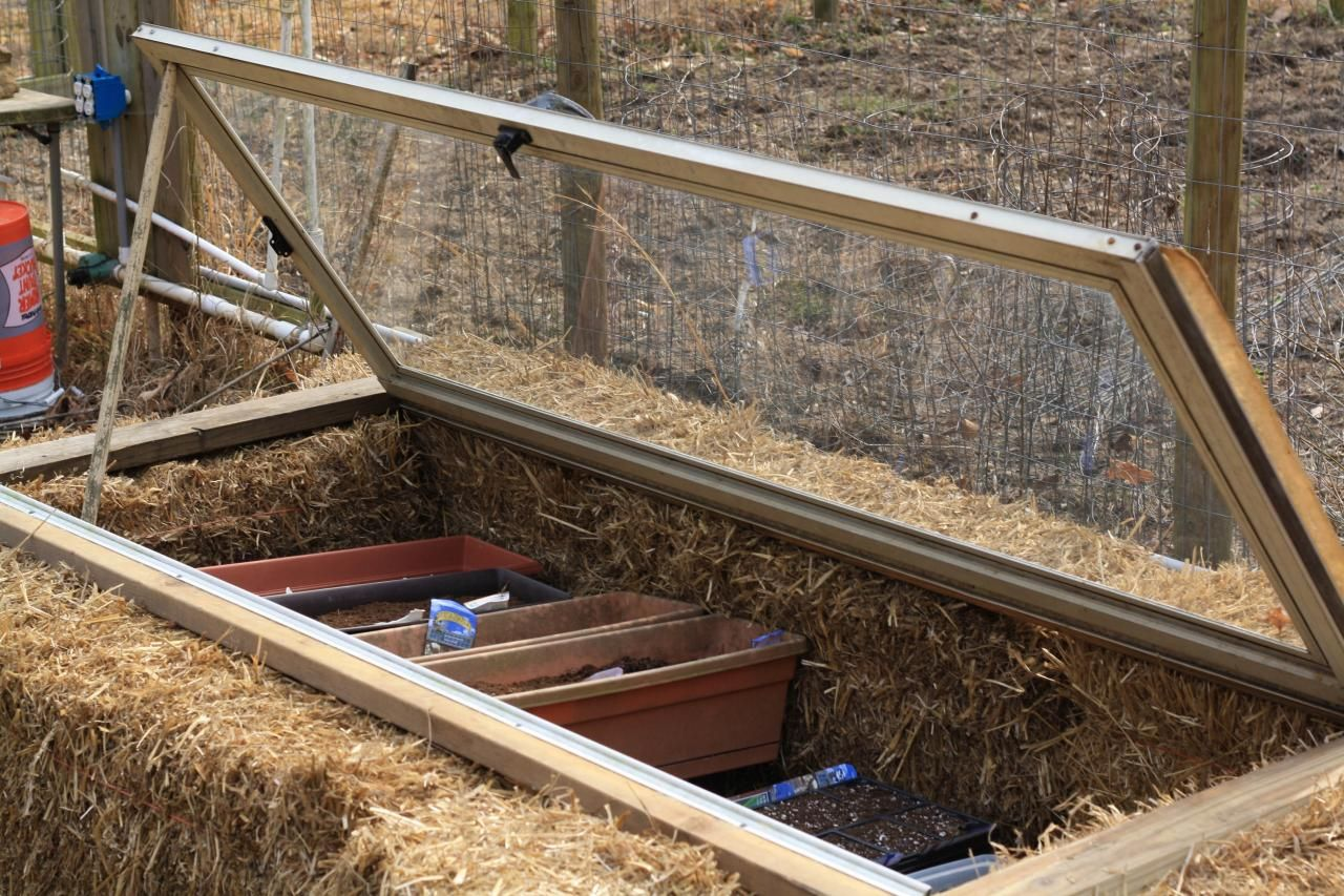 Even if your last frost date hasn't yet passed, you can use a cold frame to protect tender plants and get a jump on spring planting. Learn more on HGTV.
