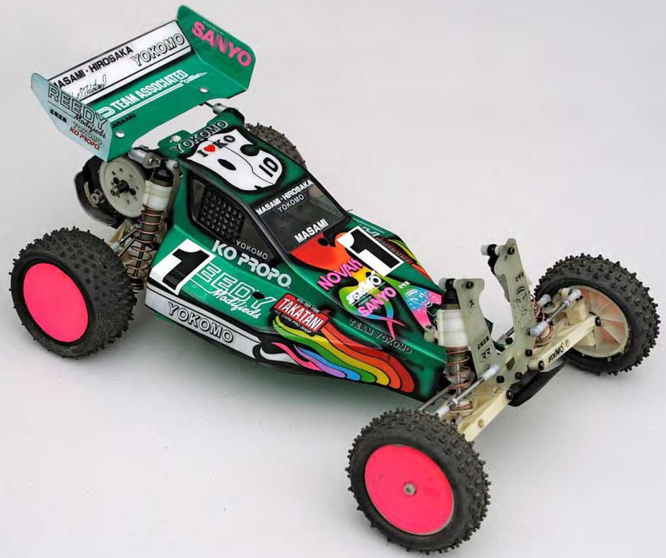 1991 Detroit Worlds RC10 Overall Front Right Corner