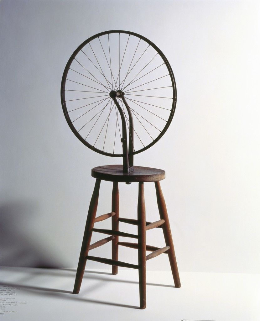 Bicycle Wheel by Marcel Duchamp on Curiator, the world\u0027s biggest ...