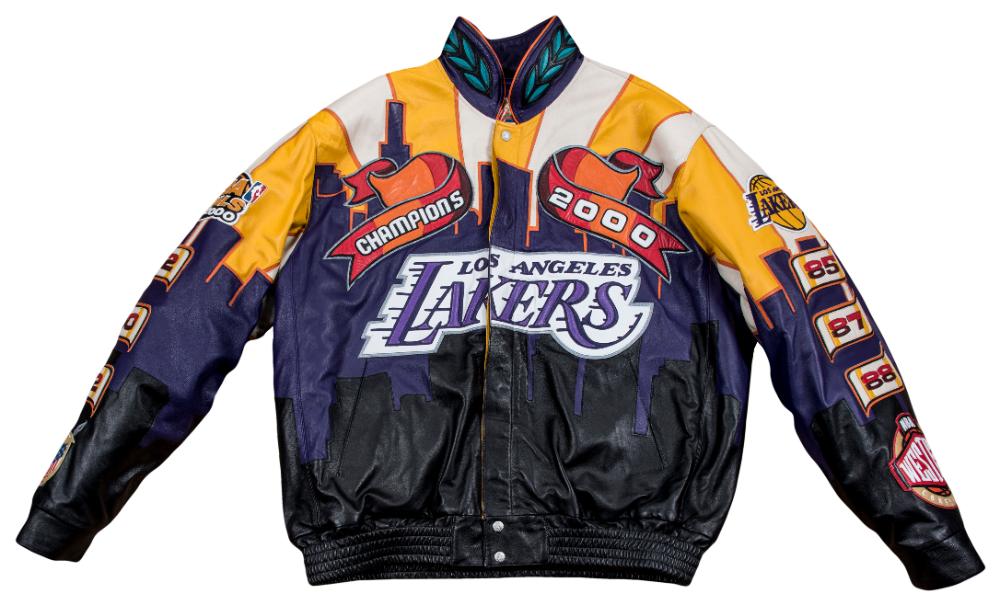 2000 Los Angeles Lakers Nba Champions Custom Jeff Hamilton Jacket In 2020 Nba Champions Lakers Los Angeles Lakers