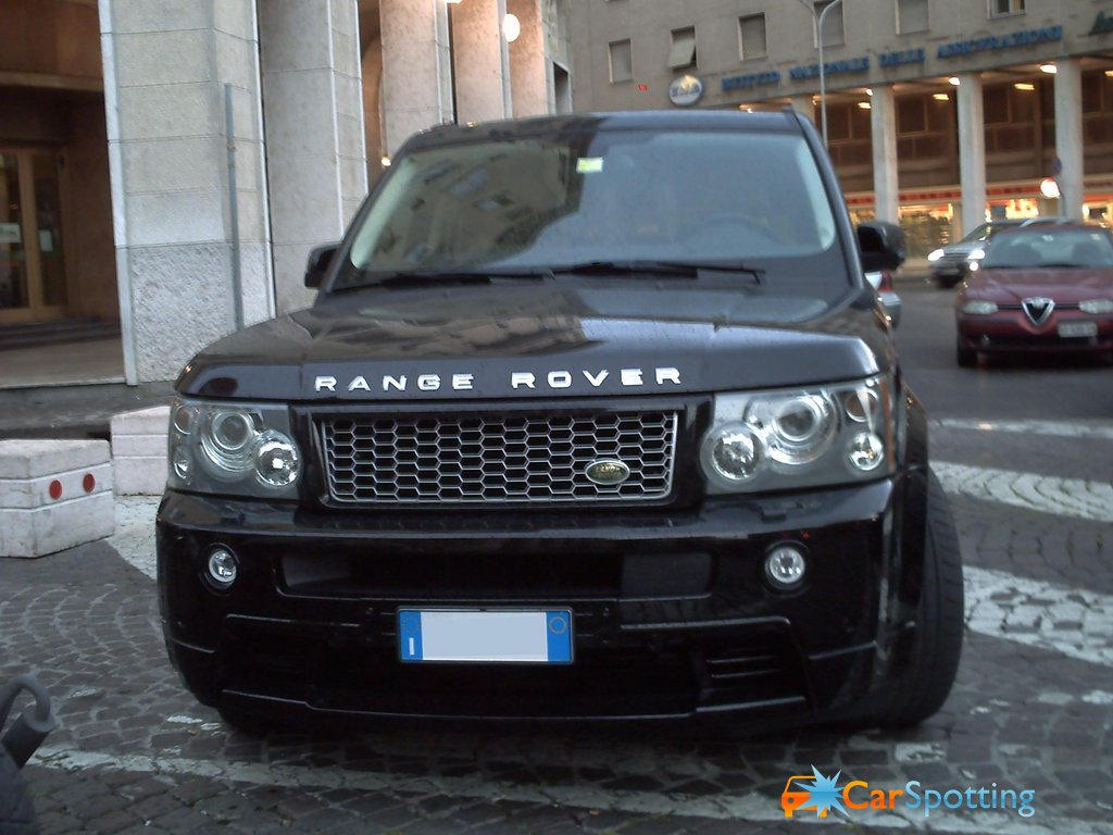 Land Rover Range Rover Sport Supercharged Range rover