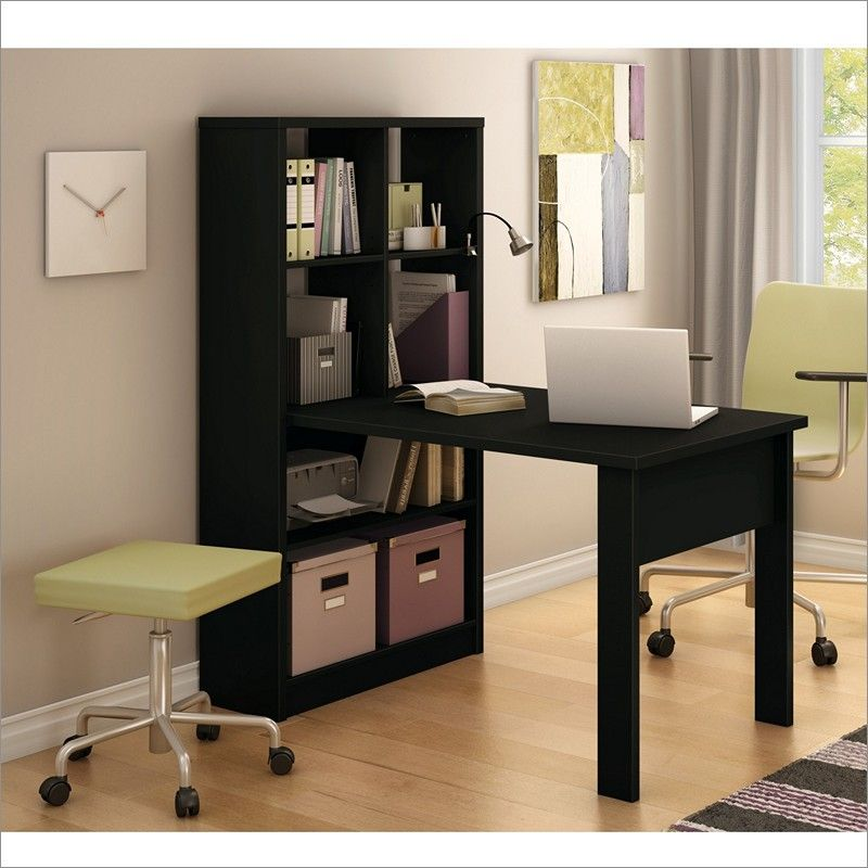 South Shore Furniture Annexe Work Table And Storage Unit