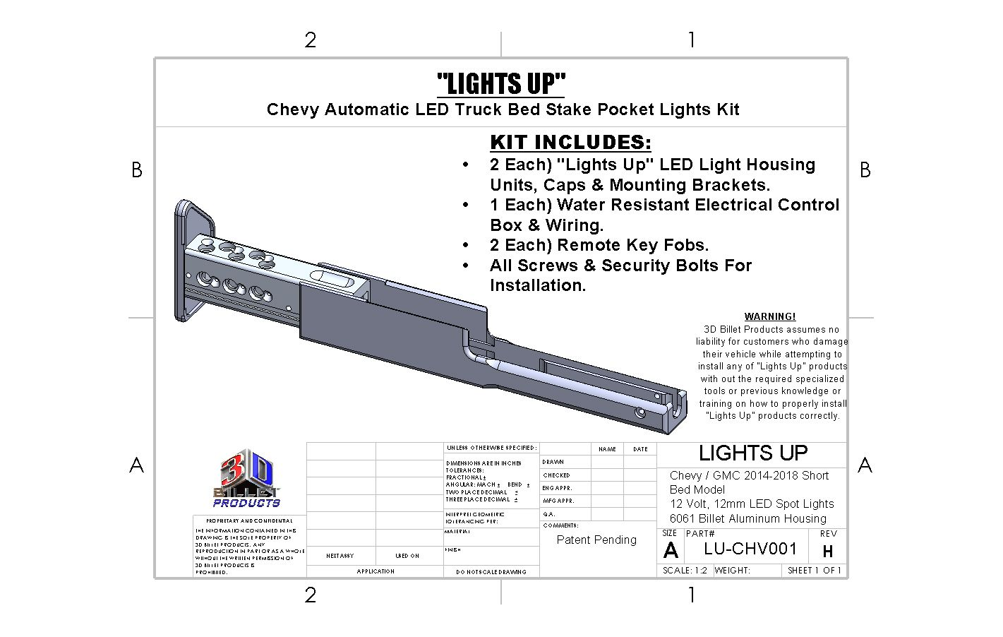 automatic keyless led truck bed lights kit available for chevy short bed pickup trucks lights up is a great low profile alternative to led light bars  [ 1421 x 902 Pixel ]