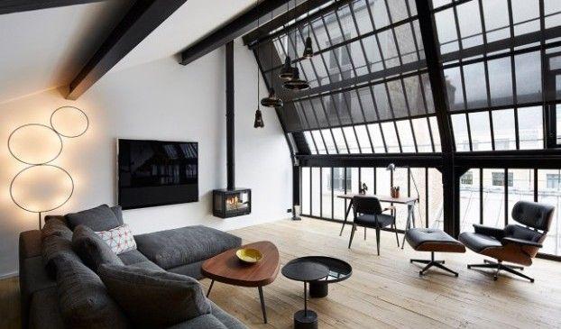 Een appartement in Parijs met een fantastisch design
