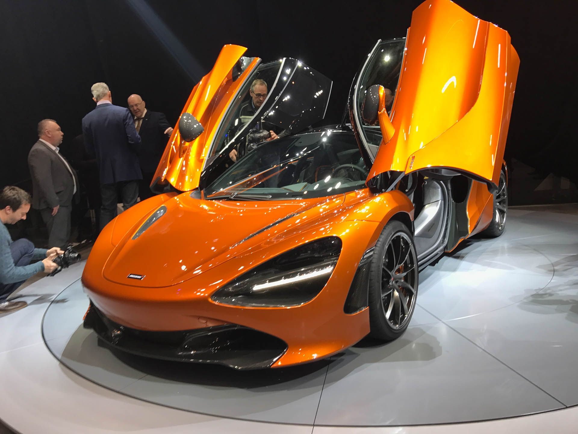 The 2018 McLaren 720S has 15 air inlets, and here's what