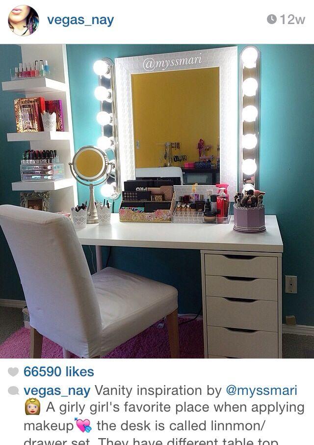 Vanity room I wanttttt :)