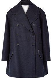 CALVIN KLEIN 205W39NYC - Double-breasted wool-felt coat   fabulous ... 1023db99e9de