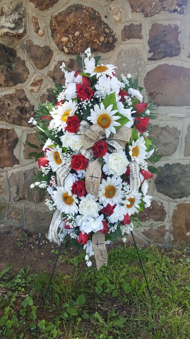 Custom Order Silk Funeral Sprays Etsyshop