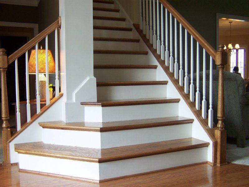 Best Southern Staircase In 2019 Straight Stairs Basement 640 x 480
