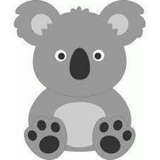 image result for koala applique template girl scout world thinking