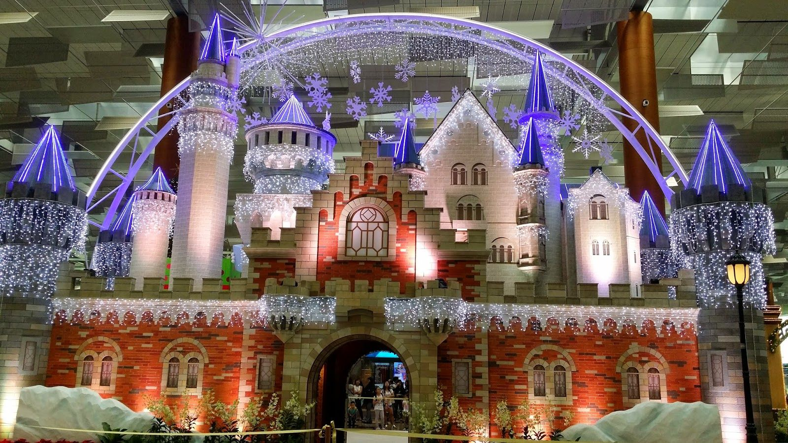 My Journey With My Lilbookworm Media Invite Disney Magic Winter Wonderland In Changi Airport Disney Magic Winter Wonderland Disney