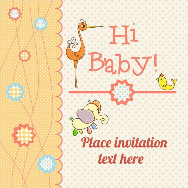 Baby card announcement freepik invitations pin 21 baby 2 baby card announcement freepik invitations pin 21 stopboris Images