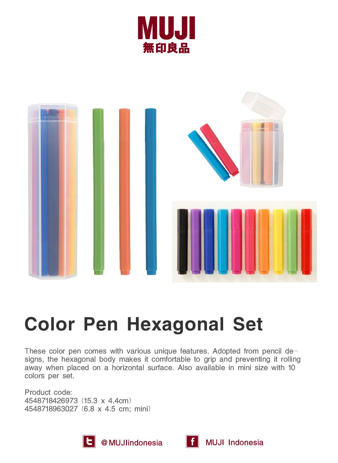 c68626dde7  Color Pen Hexagonal Set  Adopted from pencil designs