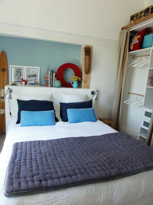 D co petite chambre en 55 id es originales 1000 id es d co chambre coucher bedroom design - Idee chambre a coucher ...