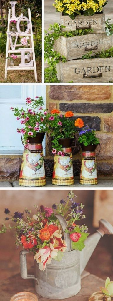 20 Vintage Garden Decor Ideas to Give Your Outdoor Space a New