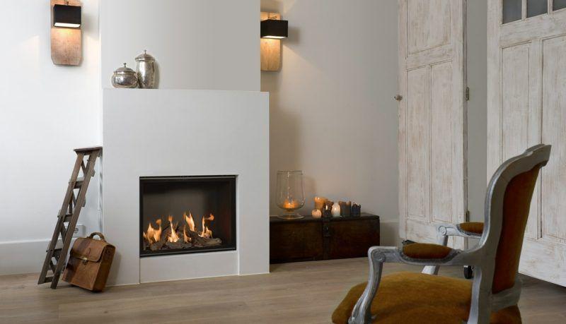 Gaskamine 50 Ideen Fur Ein Gemutliches Ambiente Umweltfreundlich Design Moderne Holz Wohnzimmer Gas Ohneschornstein Kam Gas Fireplace Fireplace Decor