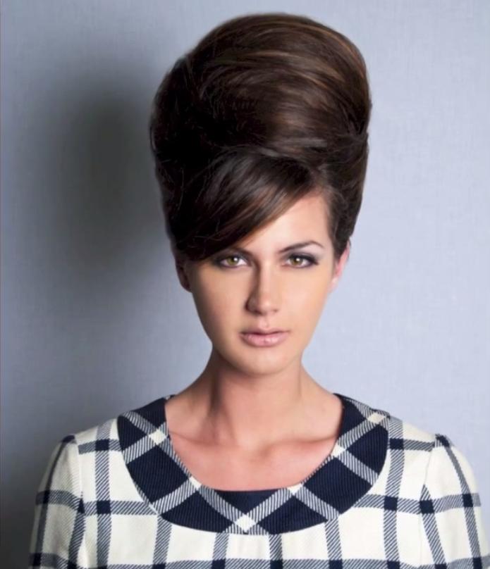 Beautiful Fringe Hairstyle Beehive Hair Vintage Hairstyles Hair Styles