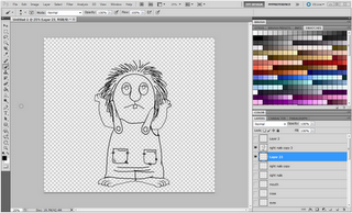 Picture Tutorial on creating clipart