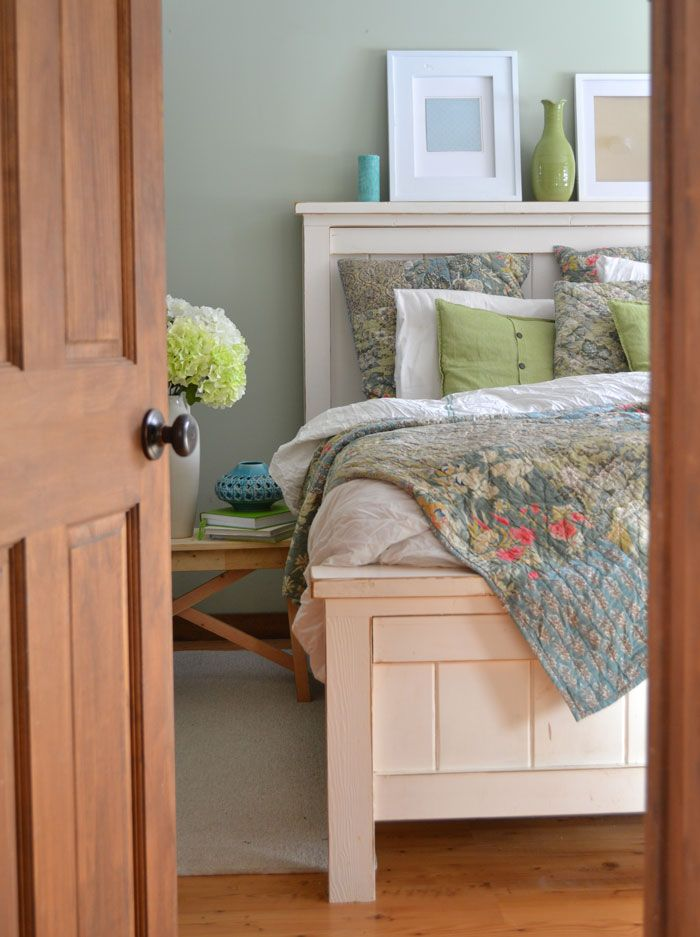 Best Farmhouse Bed Queen Sized Furniture Plans Furniture 400 x 300