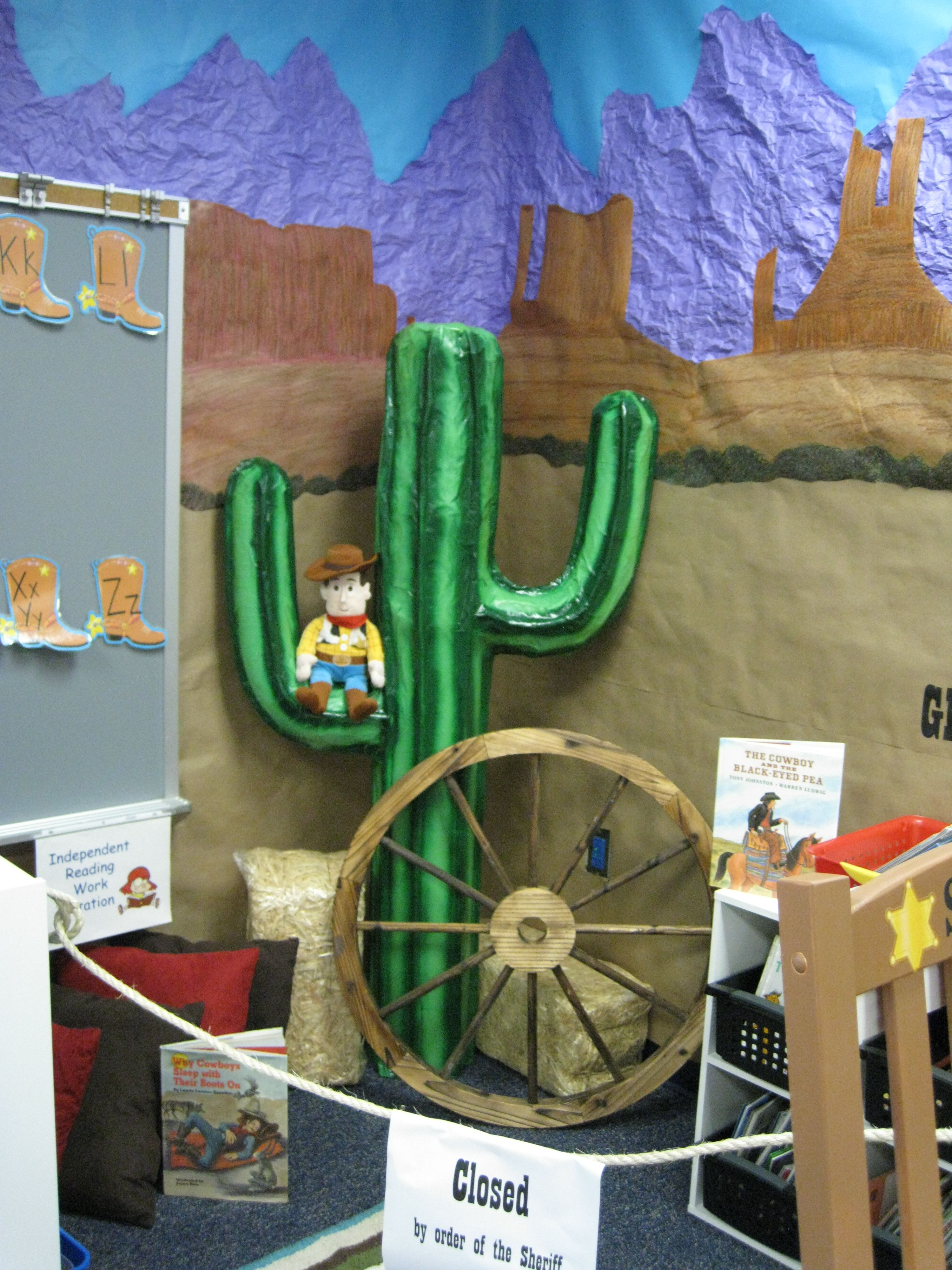 Classroom Decoration Ideas For Party ~ Classroom western theme education pinterest