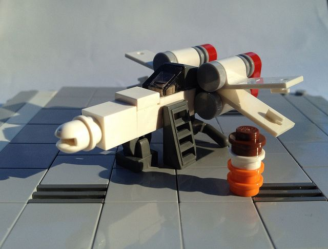 Micro X-Wing by Miro78, via Flickr