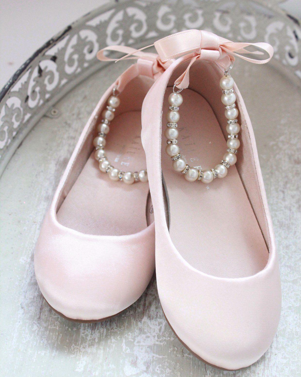 Women \u0026 Kids Shoes BLUSH PINK SATIN