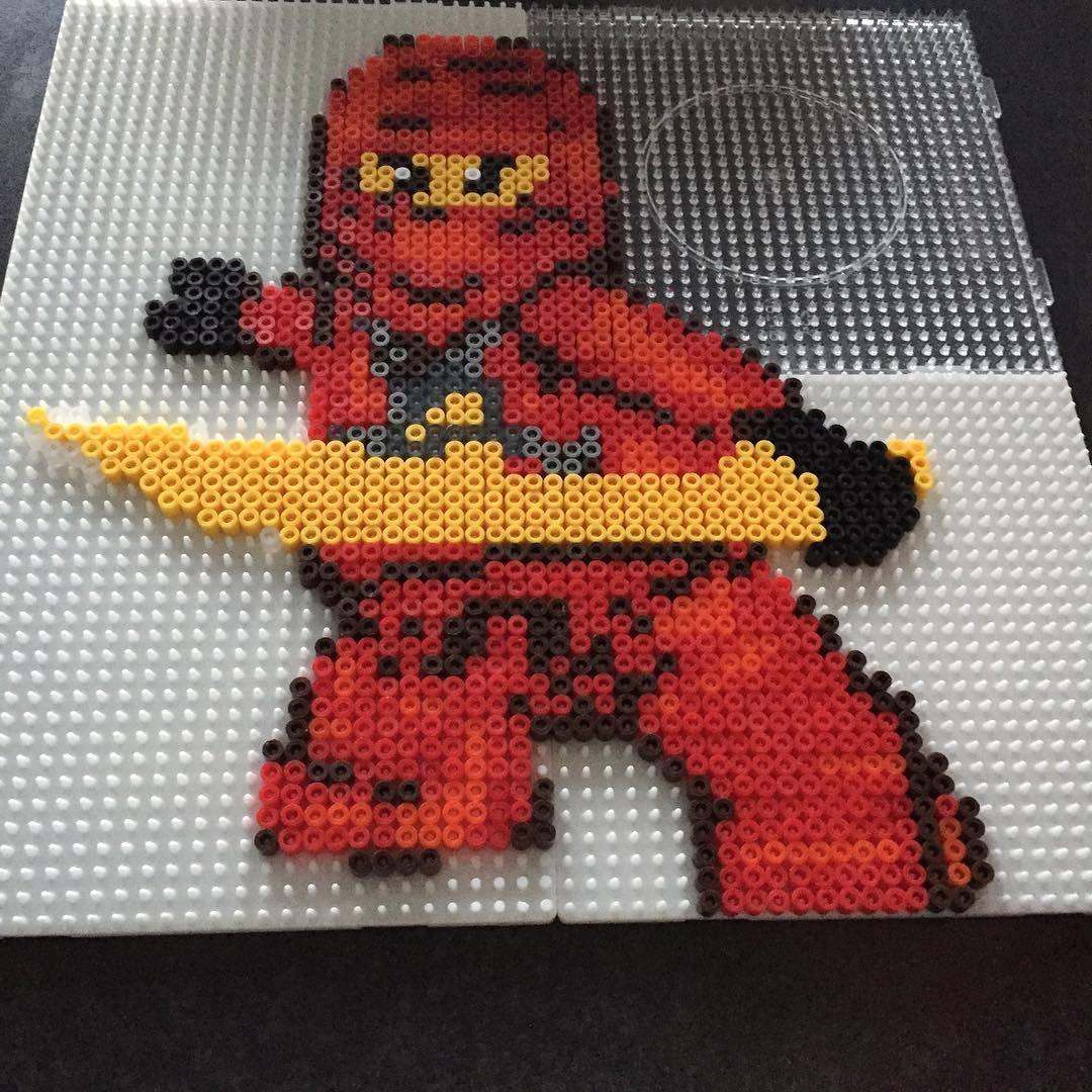 Lego Ninjago Hama Beads By Foerre Bügelperlen Pinterest