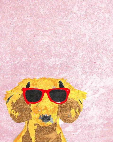 Dachshund Print Vintage Dog Poster Dog Art Doxie by WilsonInc, $10.00