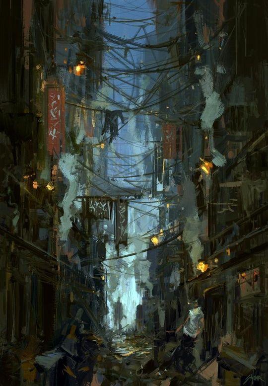 Kowloon Walled City, an art print by Jared Shear