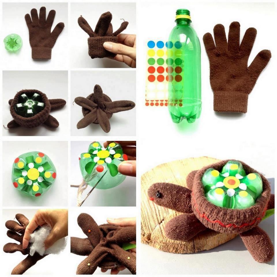 Diy glove turtle turtle crafts crafts crafts for kids