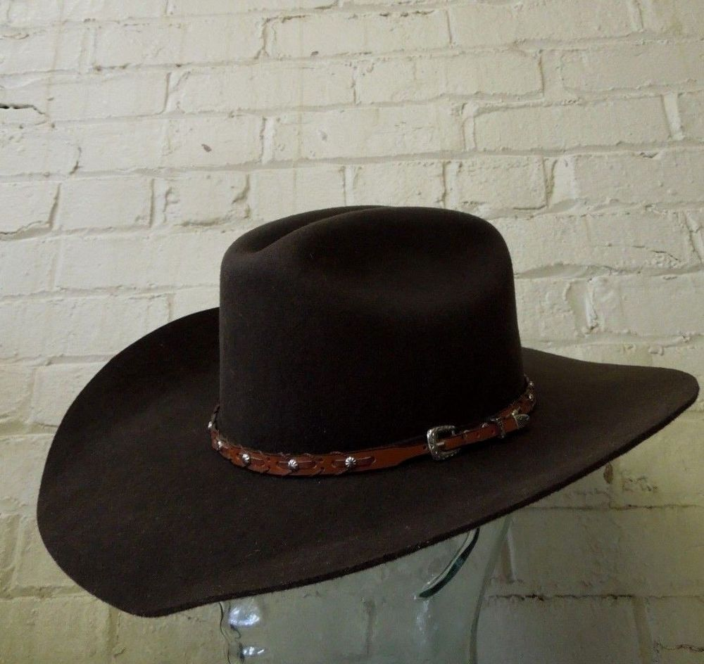 Men s Twister Dallas Brown Wool Felt Western Hat w  Leather Hat Band   fashion  clothing  shoes  accessories  mensaccessories  hats (ebay link) 132fc4173e3