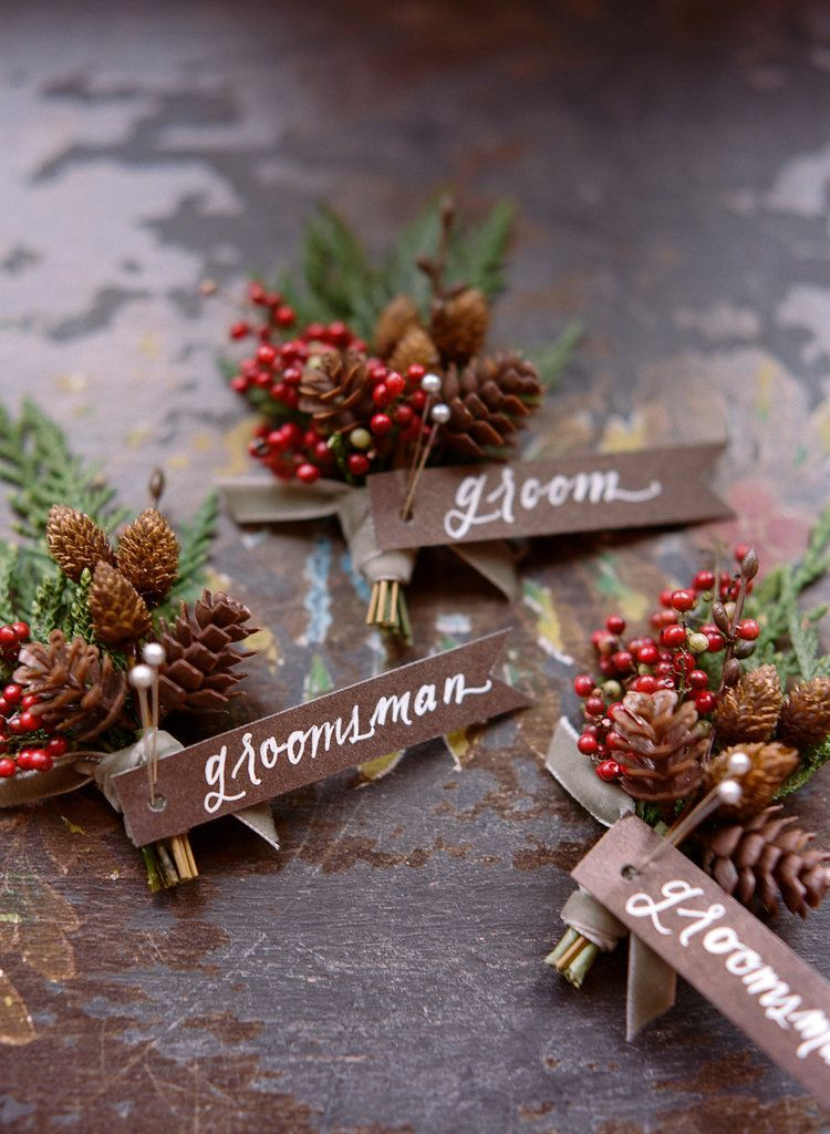Winter Details to Inspire All of You Who Are Planning a Winter Wedding