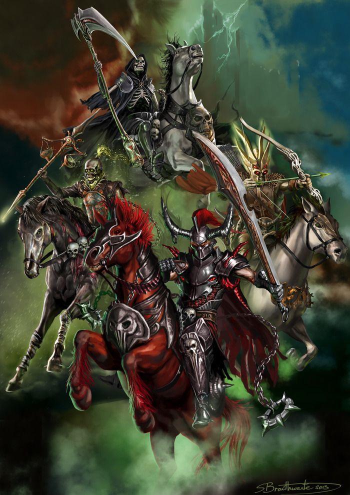 four horsemen of the apocalypse   The Four Horsemen and The