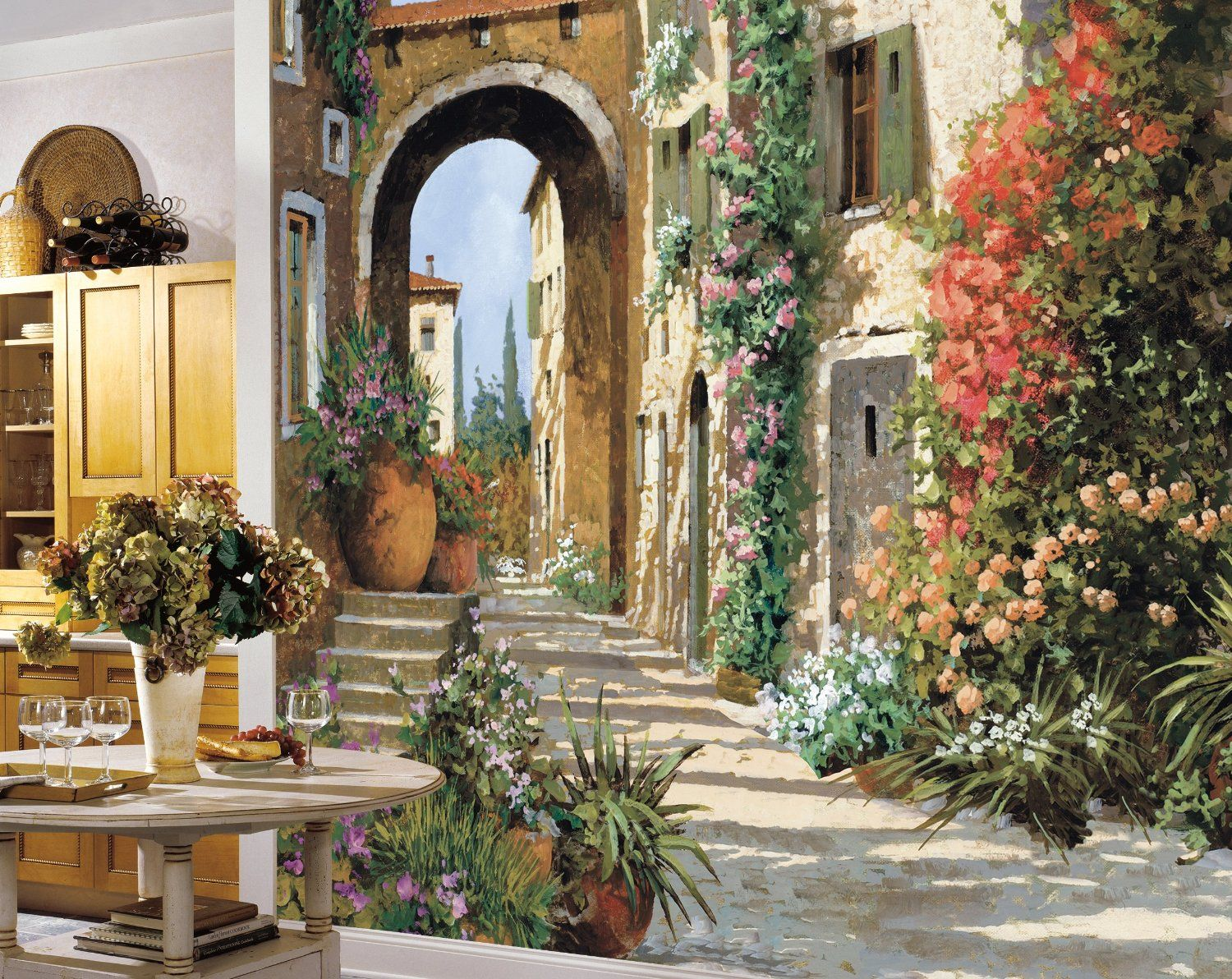 York wallcoverings mp4870m tuscan breezeway large mural wall york wallcoverings mp4870m tuscan breezeway large mural wall murals amazon amipublicfo Image collections