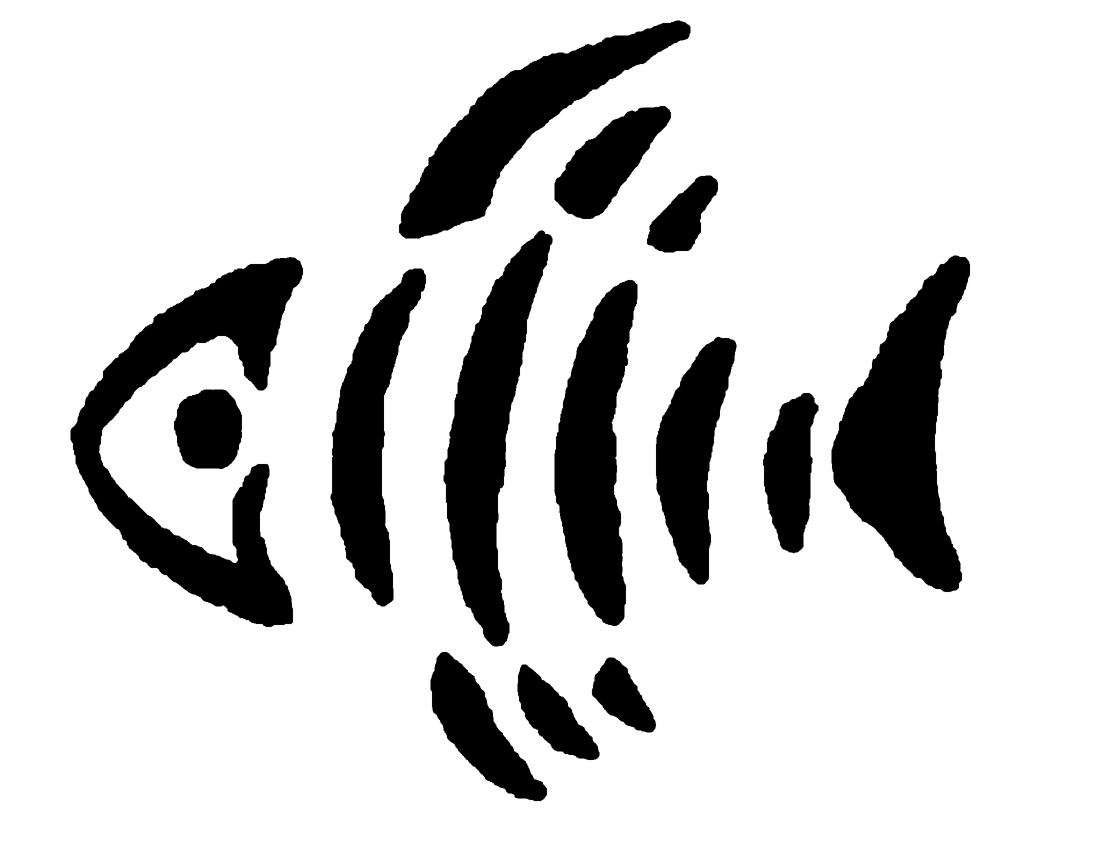 angler fish skeleton logo for gallery for u003e fish skeleton stencils rh pinterest com fish skeleton logo brand fish skeleton logo brand