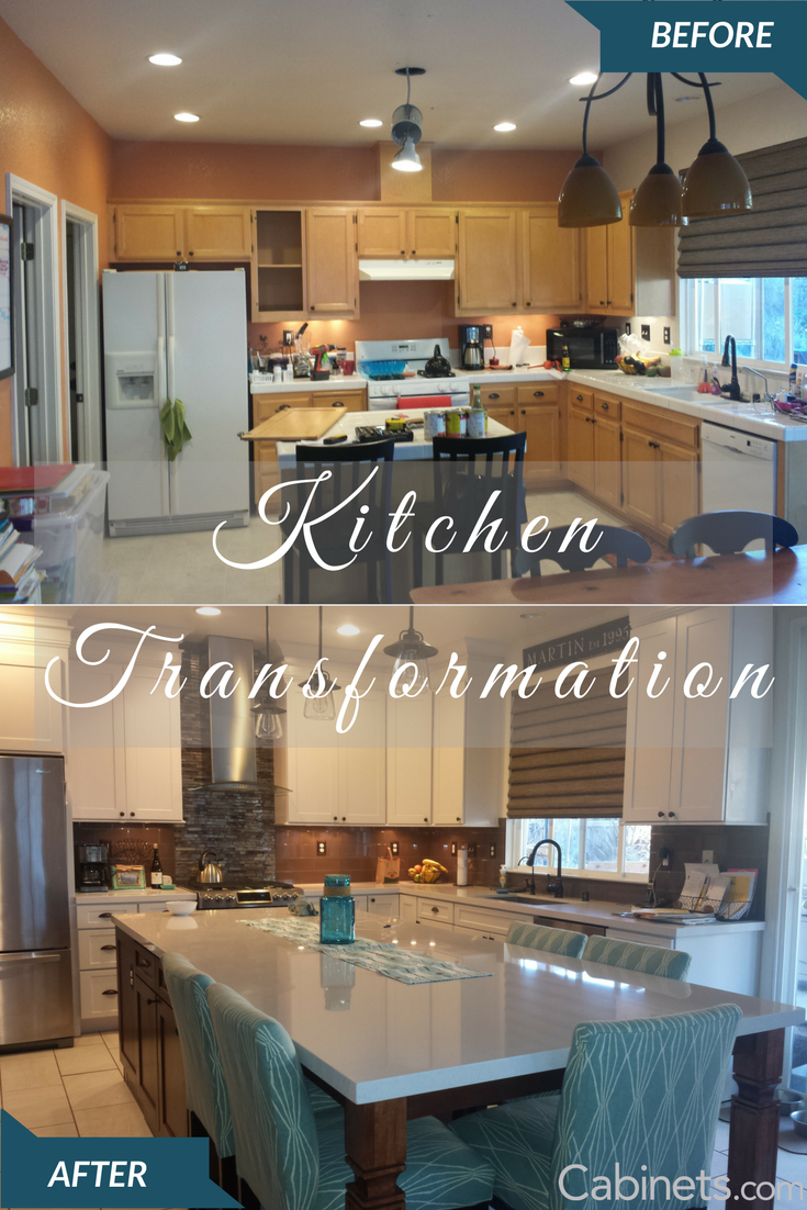Check Out This Beautiful Kitchen Makeover To Our Titusville