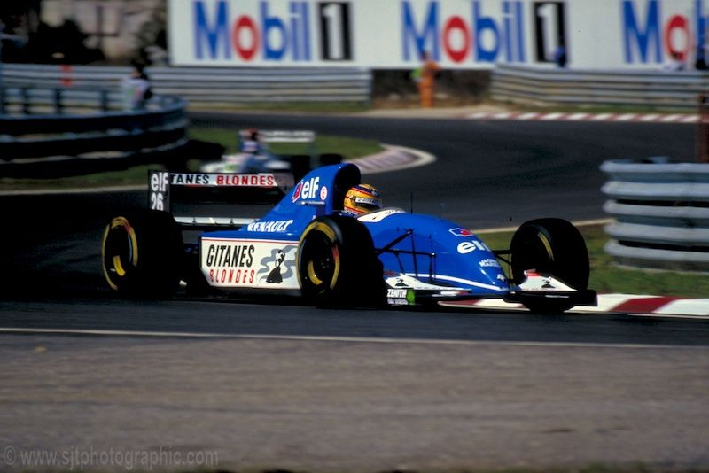 1993 Ligier JS39 - Renault (Mark Blundell)